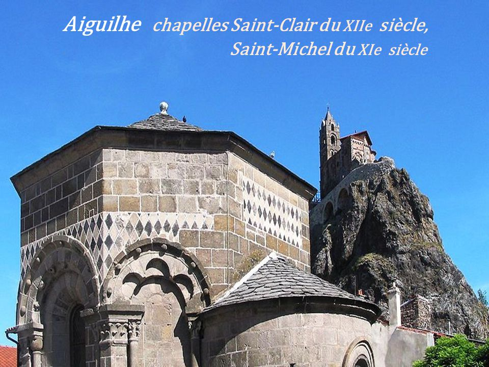 Saint-Julien-Chapteuil léglise façade occidentale