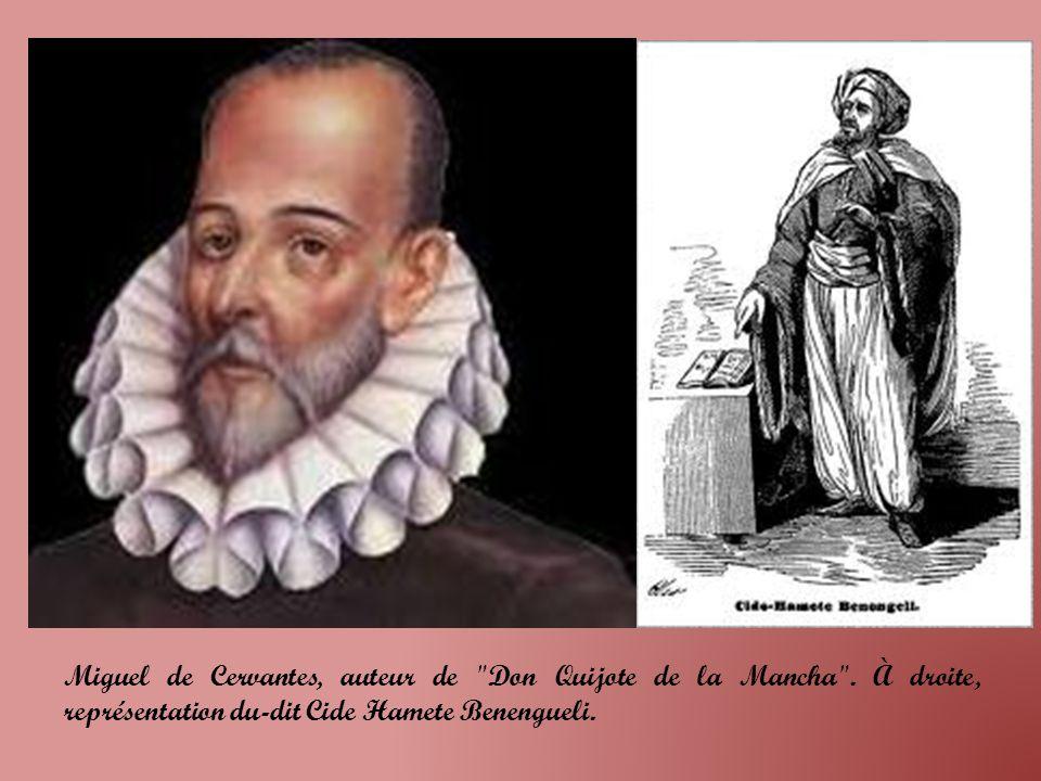 Miguel de Cervantes, auteur de Don Quijote de la Mancha .