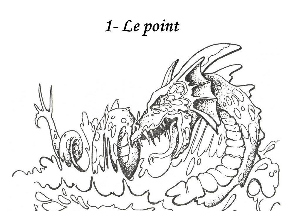 1- Le point