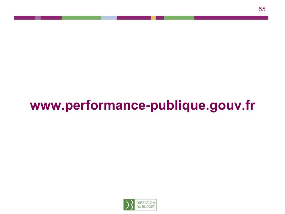 55 www.performance-publique.gouv.fr