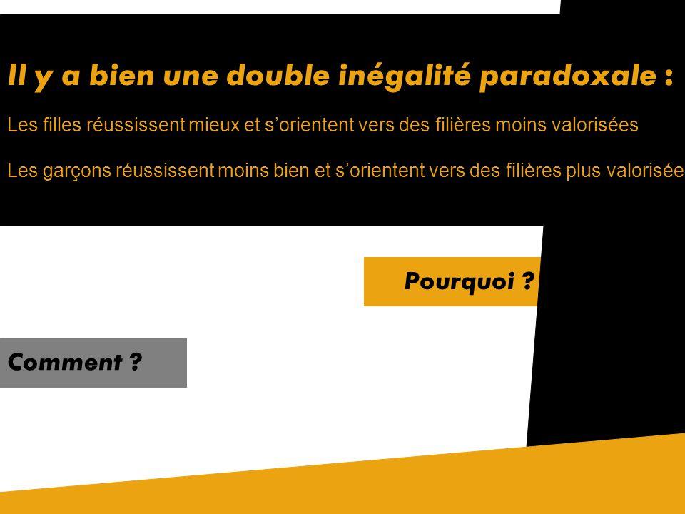 En France, au bac : En france, dans lenseignement supérieur : Les filières choisies dans le supérieur orientent vers des métiers différents en soi mai