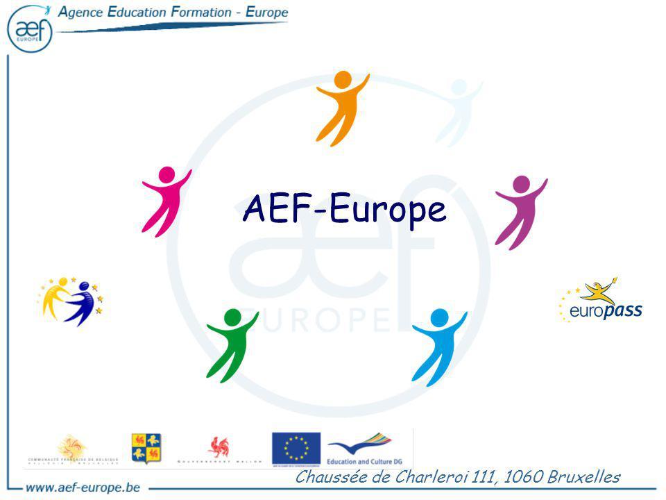 AEF-Europe Chaussée de Charleroi 111, 1060 Bruxelles