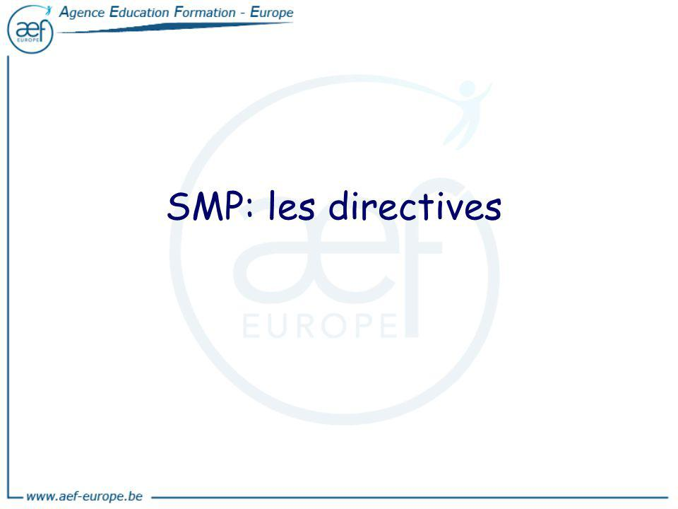 SMP: les directives