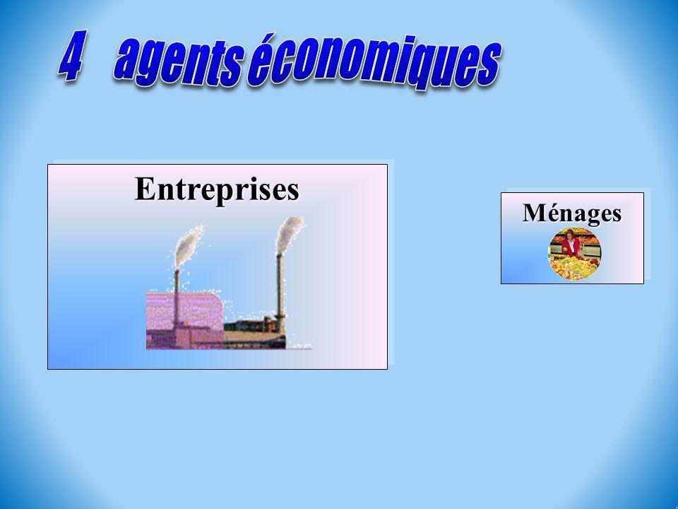 MénagesMénages EntreprisesEntreprises