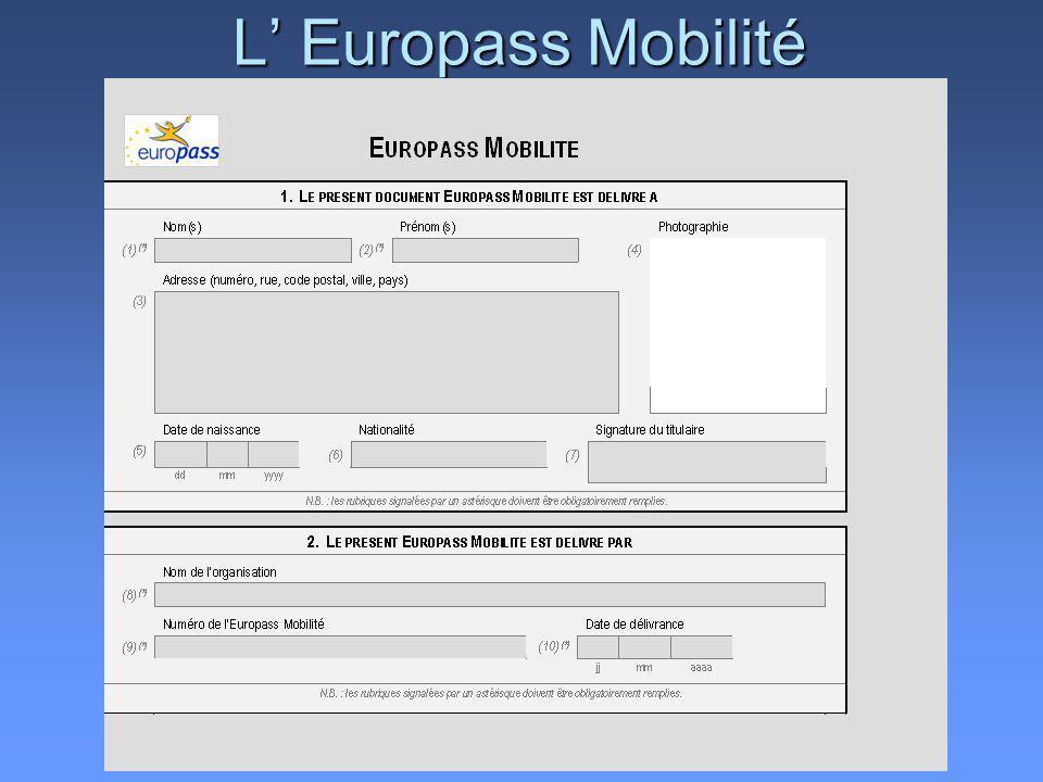 L Europass Mobilité
