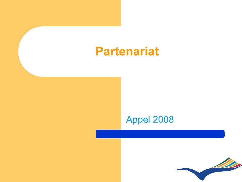 Partenariat Appel 2008