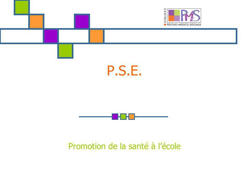 P.S.E. Promotion de la santé à lécole NNN