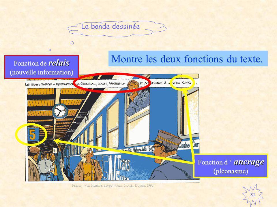 La bande dessinée 31 Francq - Van Hamme, Largo Winch, O.P.A., Dupuis, 1992.