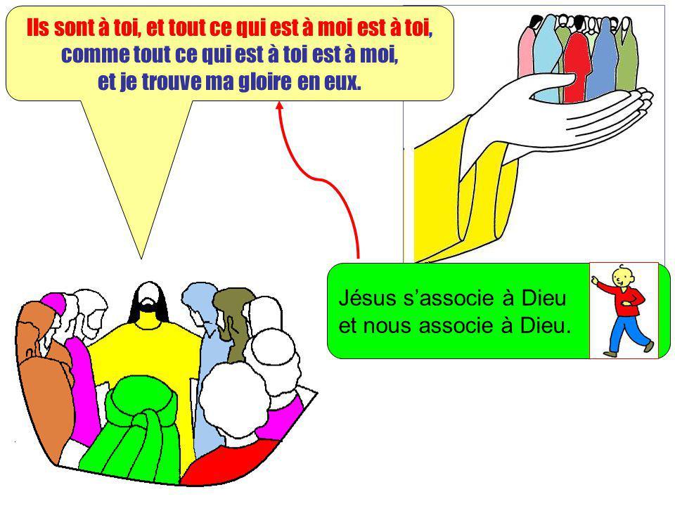 Extrait de « Mille images dEvangile » de Jean François KIEFFER Edition Presse dIle de France Ils sont à toi, et tout ce qui est à moi est à toi, comme
