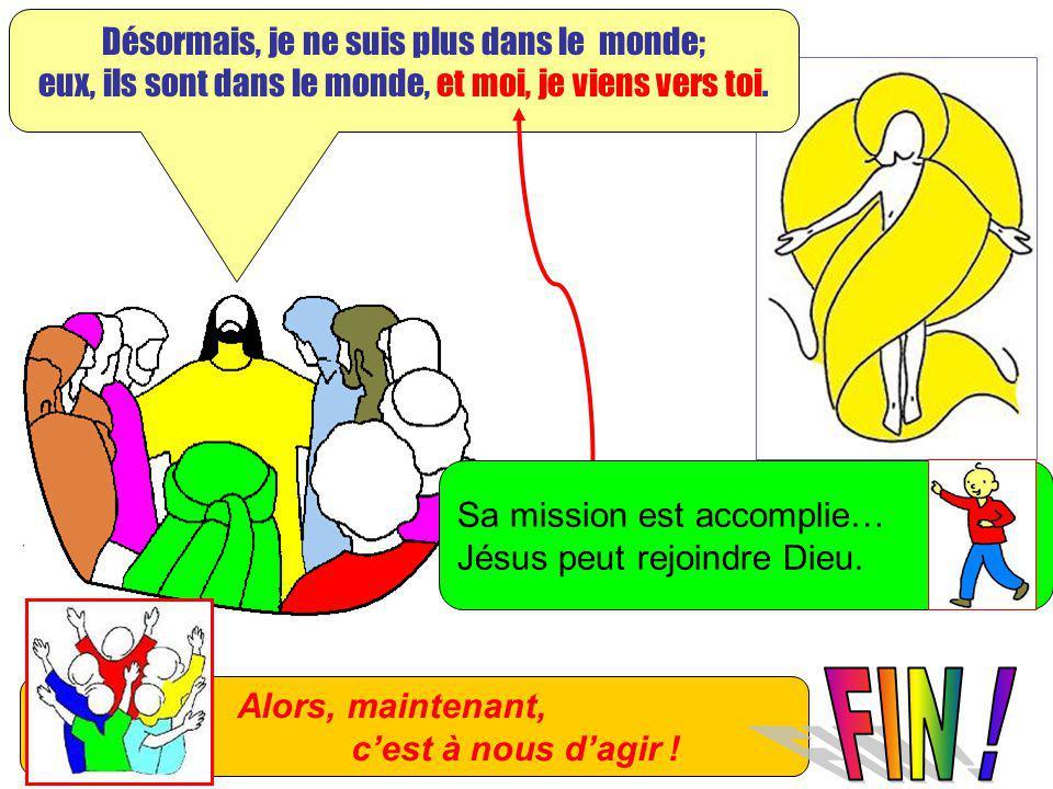Extrait de « Mille images dEvangile » de Jean François KIEFFER Edition Presse dIle de France Désormais, je ne suis plus dans le monde; eux, ils sont d
