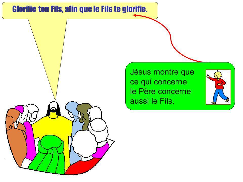 Extrait de « Mille images dEvangile » de Jean François KIEFFER Edition Presse dIle de France Glorifie ton Fils, afin que le Fils te glorifie. Jésus mo