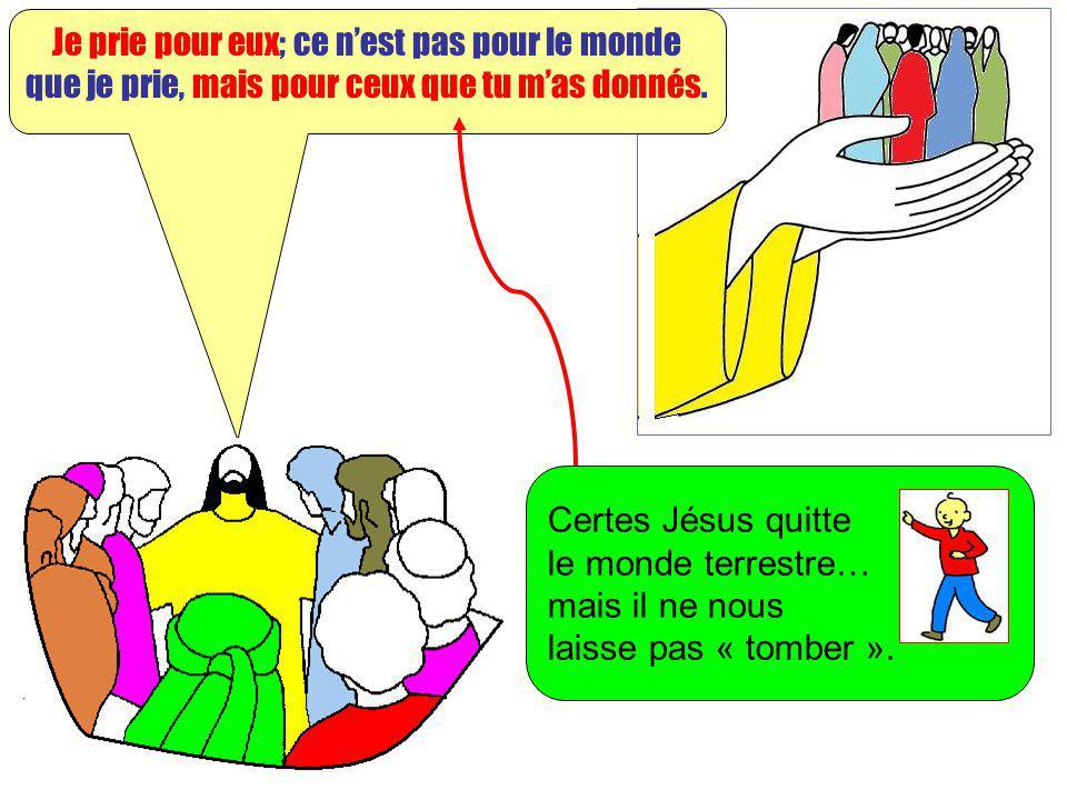 Extrait de « Mille images dEvangile » de Jean François KIEFFER Edition Presse dIle de France Ils sont à toi, et tout ce qui est à moi est à toi, comme tout ce qui est à toi est à moi, et je trouve ma gloire en eux.