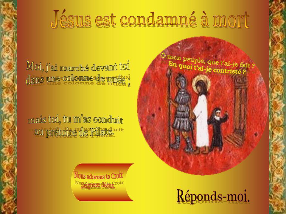 Ce sont les reproches que Jésus adresse à son peuple.