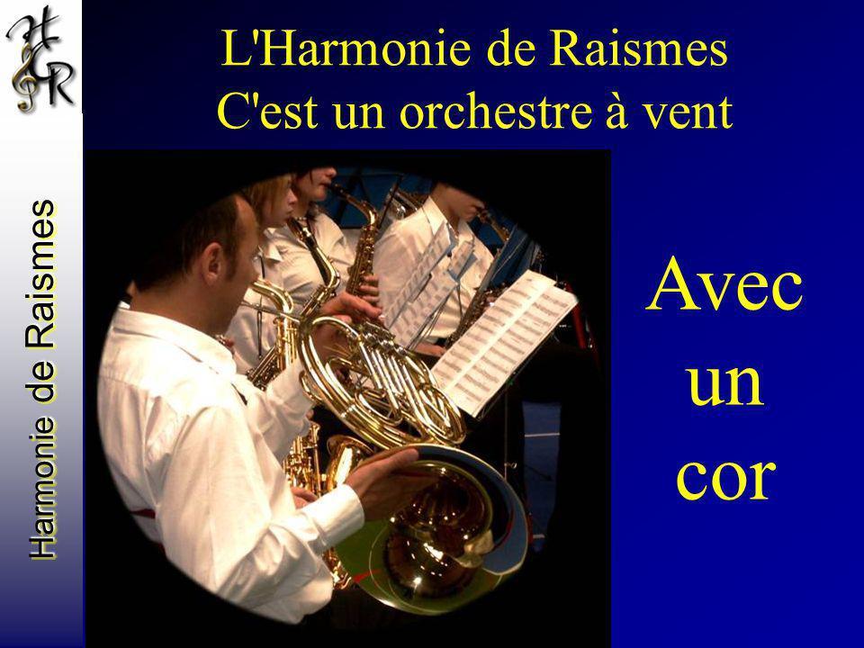 Harmonie de Raismes L'Harmonie de Raismes C'est un orchestre à vent Avec un cor