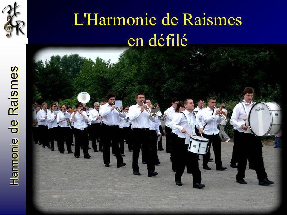 Harmonie de Raismes L'Harmonie de Raismes en défilé