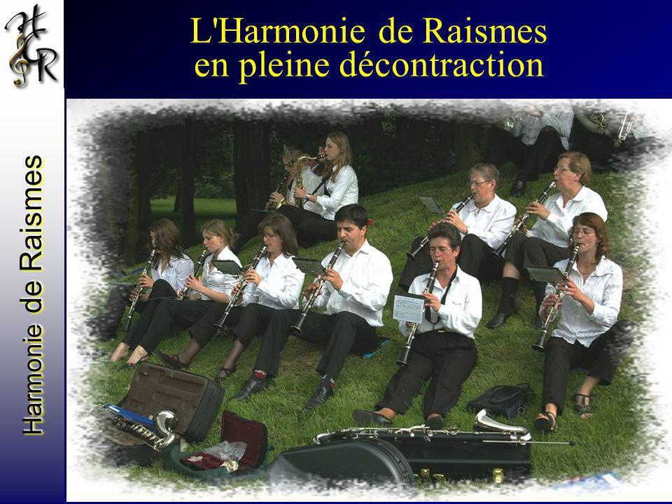 Harmonie de Raismes L'Harmonie de Raismes en pleine décontraction
