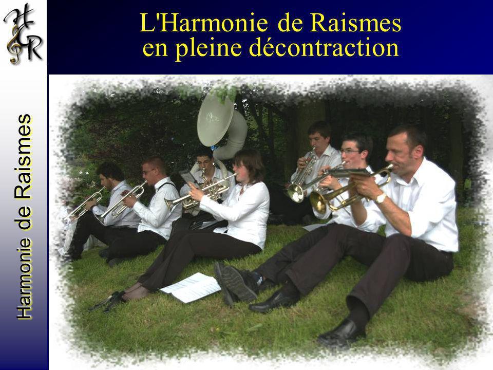 L'Harmonie de Raismes en pleine décontraction