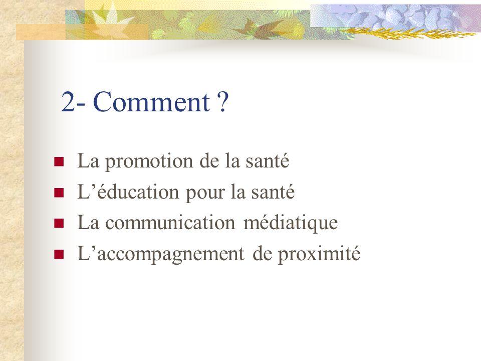 2- Comment .