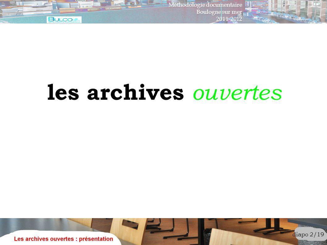 les archives fermées stockage dans un lieu unique, sans mise en réseau mise en réseau, avec identifiant/mot de passe mise en réseau, avec accès payant diapo 3/19