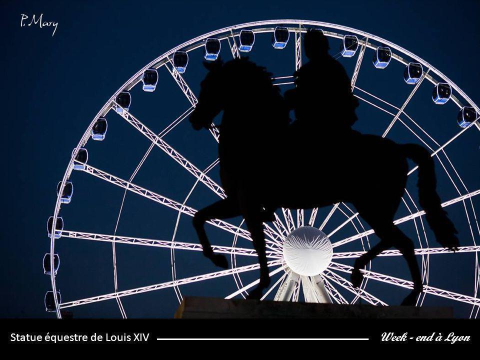 Week - end à Lyon Statue équestre de Louis XIV