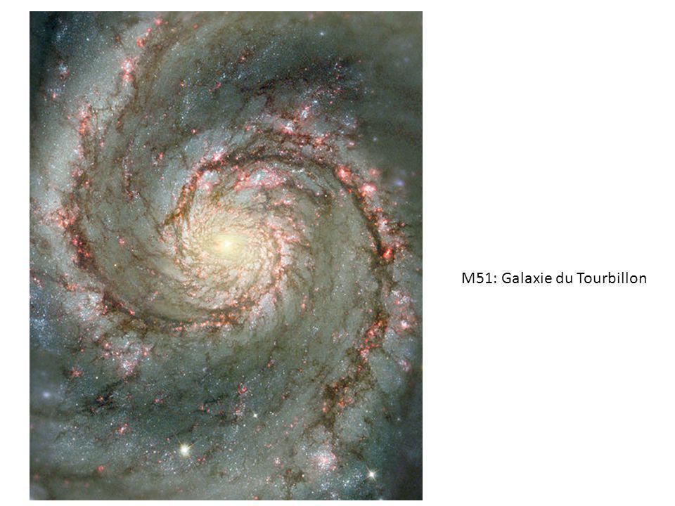 M51: Galaxie du Tourbillon