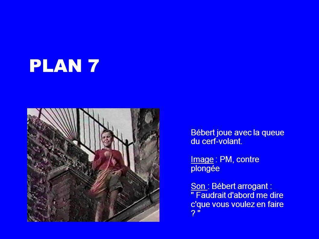 PLAN 8 Un enfant tenter d intimider Bébert pensant avoir la supériorité.