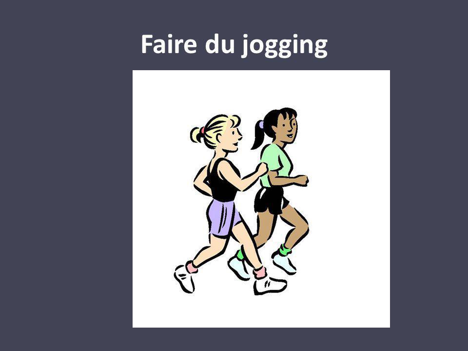 Faire du jogging