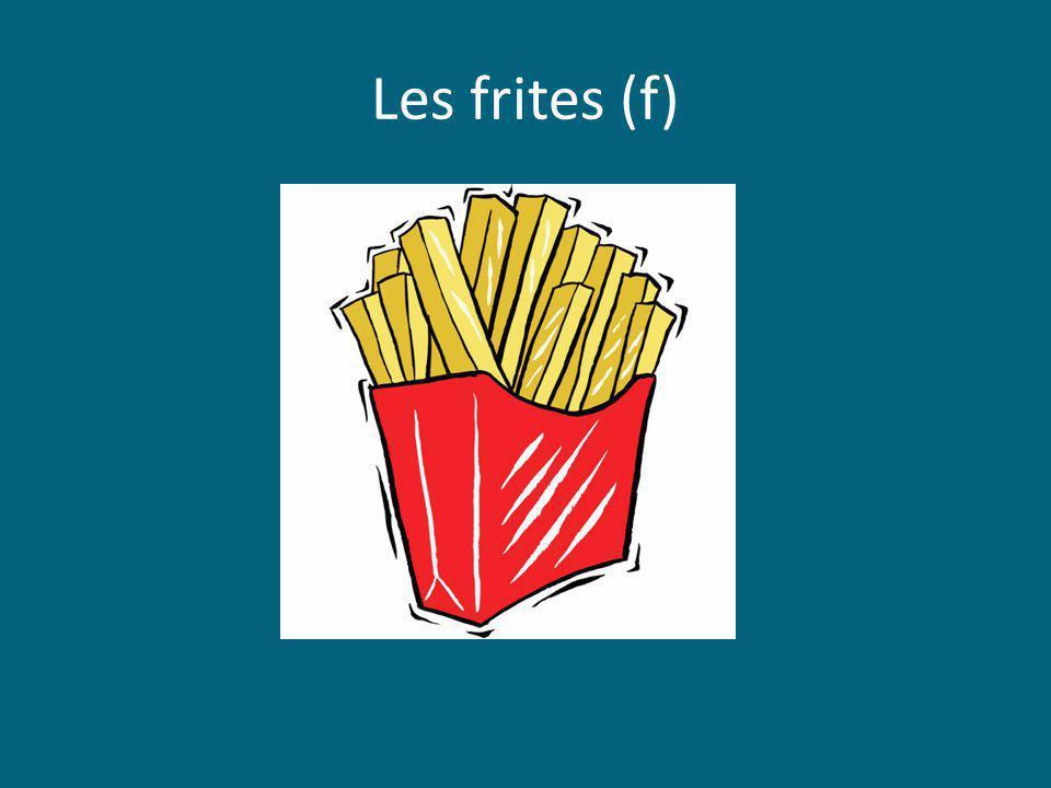 Les frites (f)