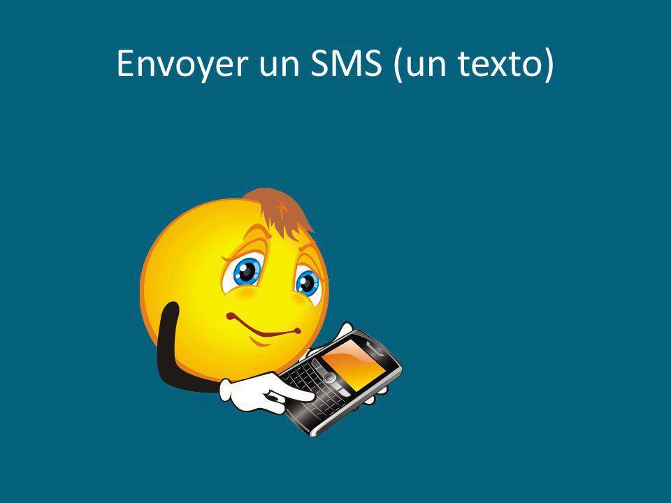 Envoyer un SMS (un texto)