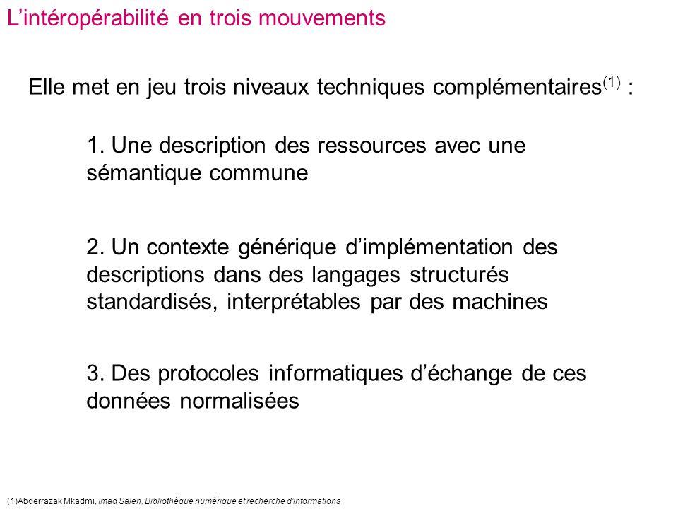 Récupération de notices et interopérabilité des catalogues contact@fulbi.fr Merci de votre attention .