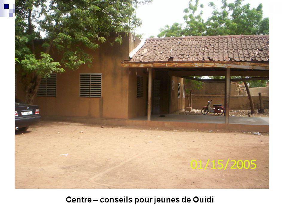 Centre – conseils pour jeunes de Ouidi