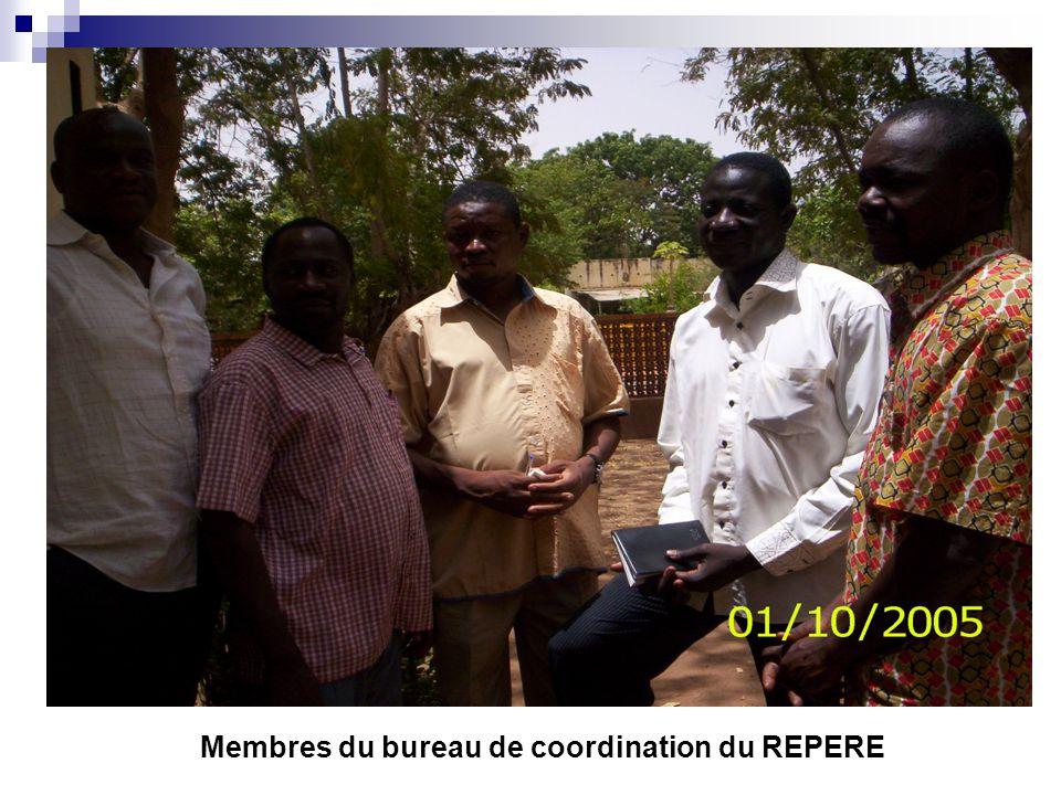 Membres du bureau de coordination du REPERE