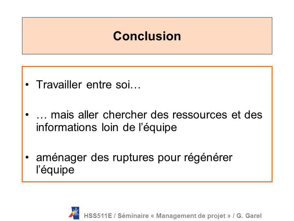 Source : J.C. Corbel, Management de projet, 2006 PSC / 15 octobre 2007 / G. Garel Le chef de projet préoccupé, mais non impliqué Quelques pièges du tr