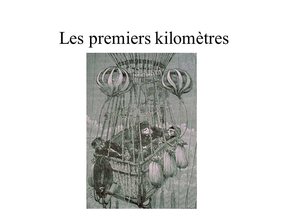 Vols non habités (ballon sonde) 1892: Hermitte et Besançon… Teisserenc de Bort : enregistreur sous ballon (P, T) Assman: ballon en caoutchouc
