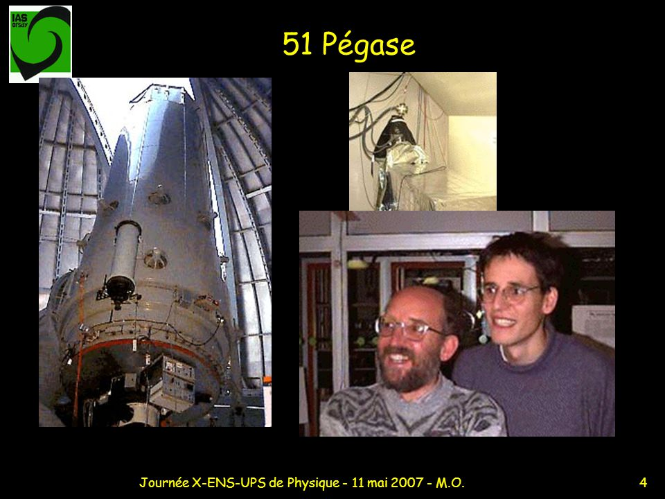 15Journée X-ENS-UPS de Physique - 11 mai 2007 - M.O.