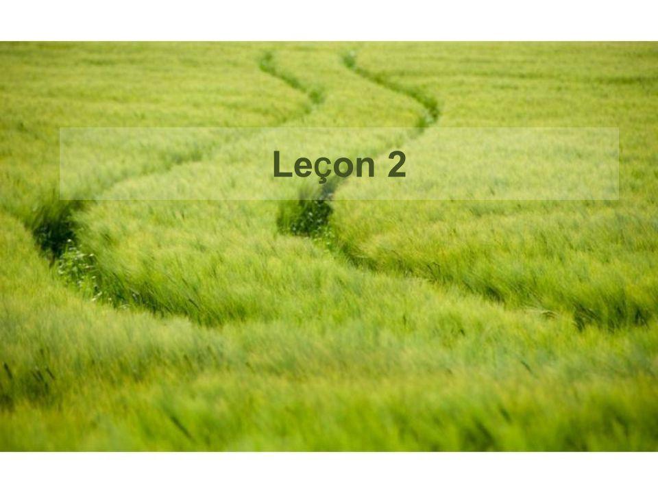 Leçon 2