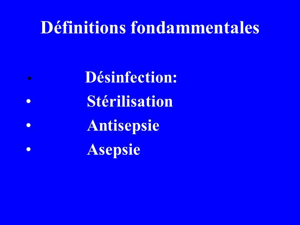 Facteurs influençant la désinfection et la stérilisation La dose de traitement Le nombre des microbes La température Le pH Les antagonistes chimiques