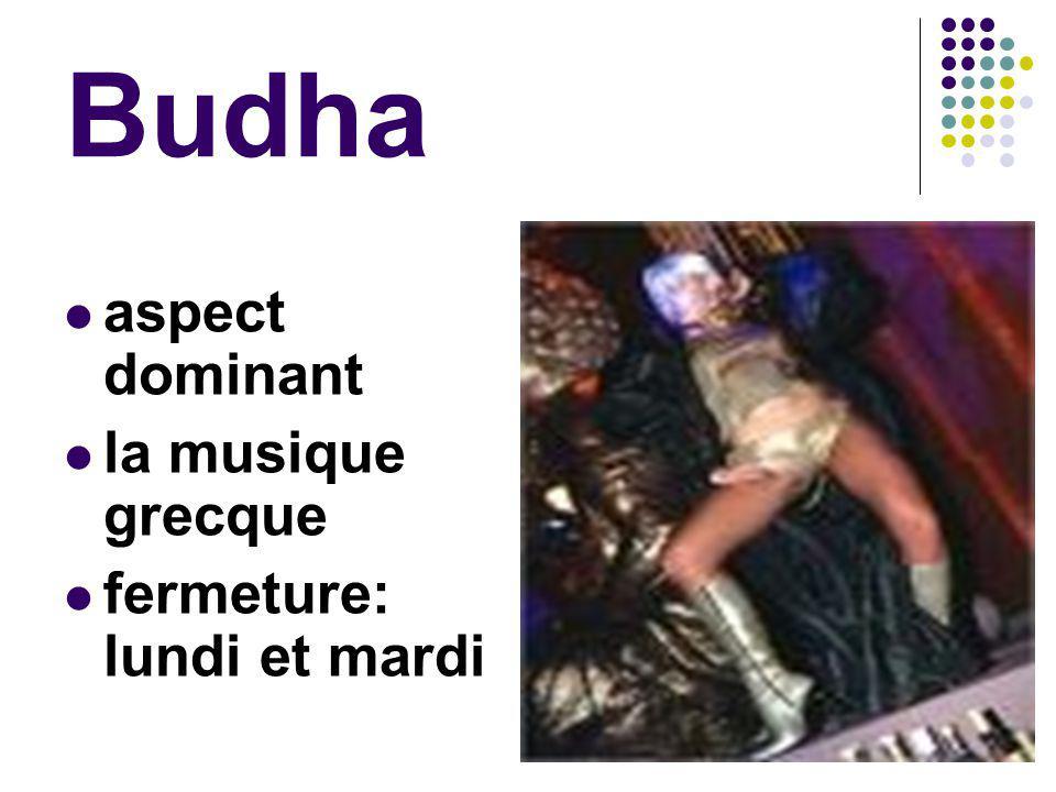 Budha aspect dominant la musique grecque fermeture: lundi et mardi
