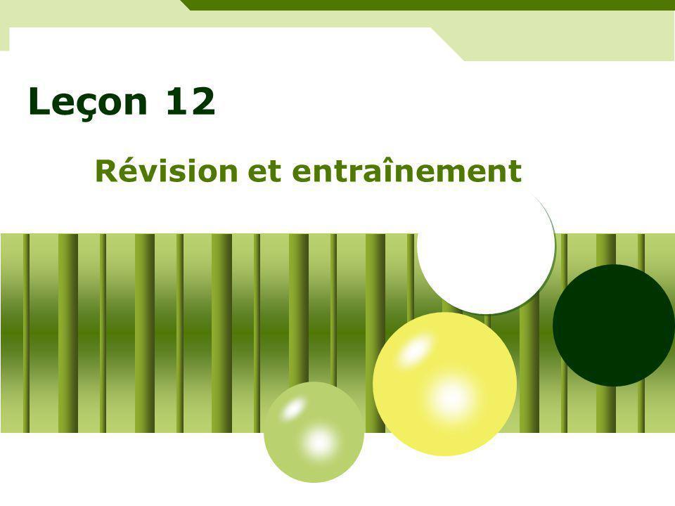 Révision – mots et expressions Comment + aller + qn.