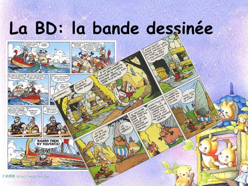 La BD: la bande dessinée