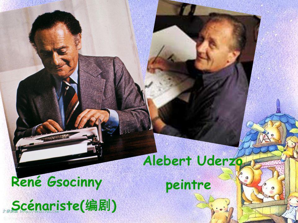 Alebert Uderzo peintre René Gsocinny Scénariste( )