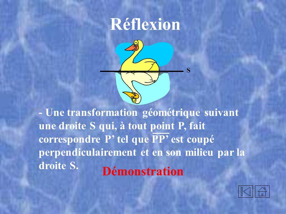 Translation 3 de 3 Relie les sommets de limage t A B D CA C D B