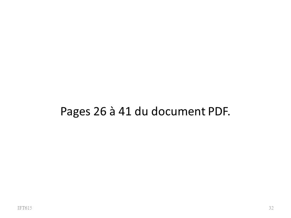 IFT61532 Pages 26 à 41 du document PDF.