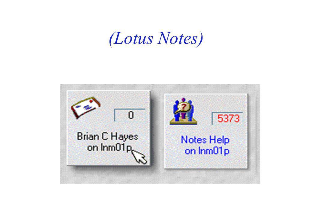 (Lotus Notes)
