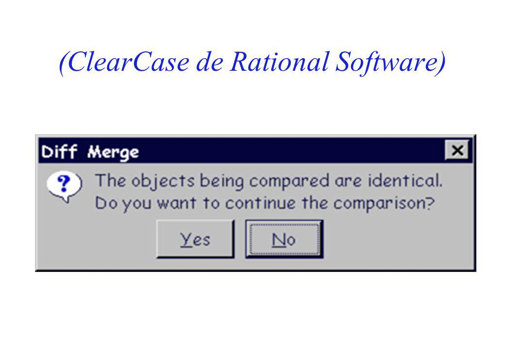 (ClearCase de Rational Software)