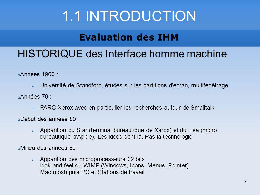 http://fr.wikipedia.org/wiki/IHM http://www.cs.utep.edu/novick/papers/cw- op.interactions.html http://www.info.fundp.ac.be/~jml/CD_IHM/Chap3/heuristi ques.html http://www.sqliagency.com/blogs/ergonomicgarde n/?tag=utilisabilite Evaluation des IHM SOURCES 84