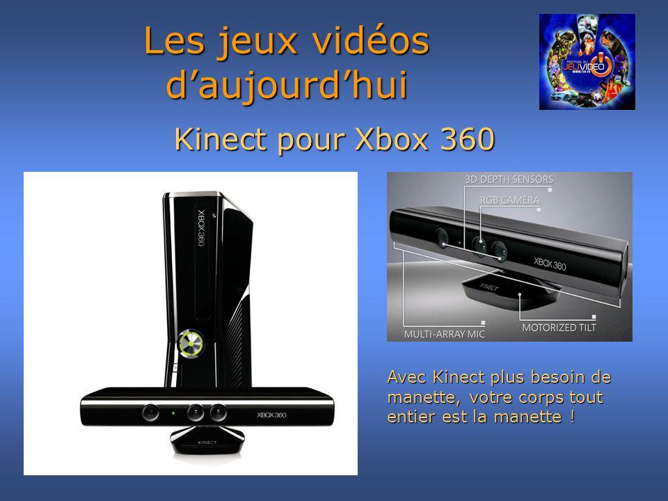Kinect pour Xbox 360 Les jeux vidéos daujourdhui Avec Kinect plus besoin de manette, votre corps tout entier est la manette !