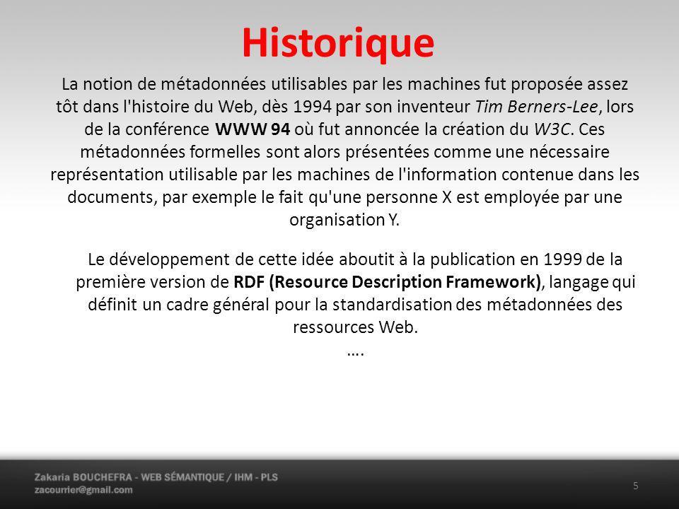 Historique ….