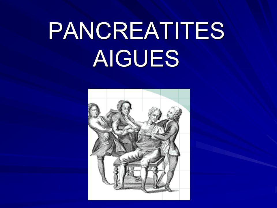 PANCREATITES AIGUES