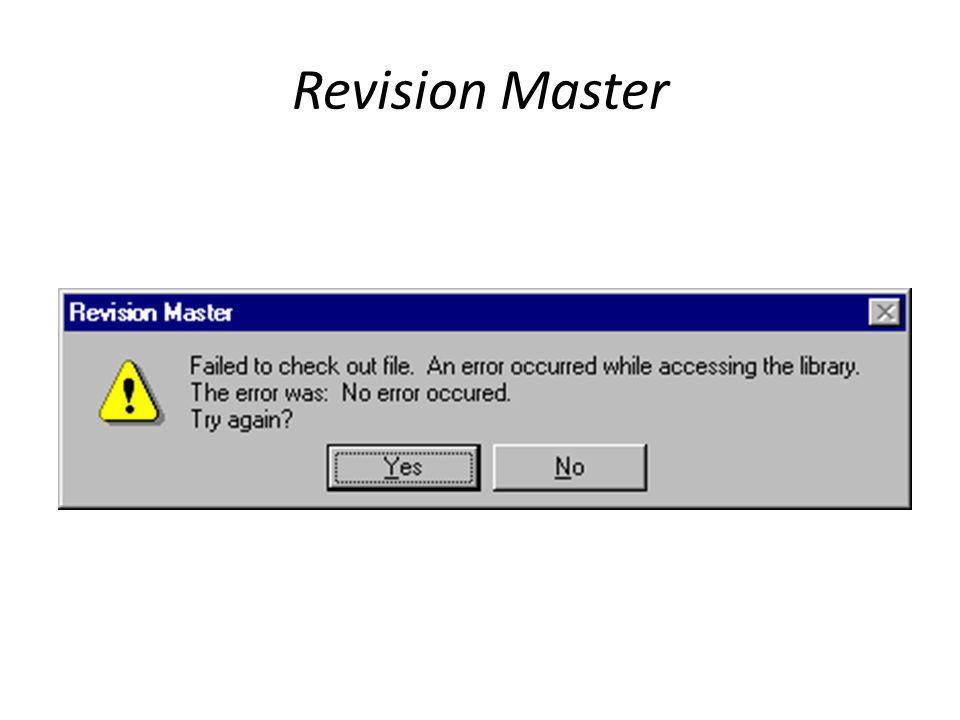 Revision Master